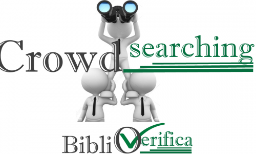 EVENTI: Crowd-SEArching #biblioVerifica 22-28 ottobre 2018 OPEN ACCESS WEEK