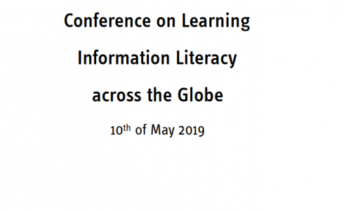 EVENTI: #LILG_2019 #iloOER Conference on Learning Information Literacy across the Globe #10maggio 2019 Francoforte #biblioVerifica #crowdsearcher