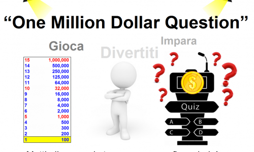 "STRUMENTI: QUIZ 2019 ""One Million Dollar Question"" Comitato @ITAedufin #EduFin Dip. Management e Diritto @unitorvergata #biblioVerifica"